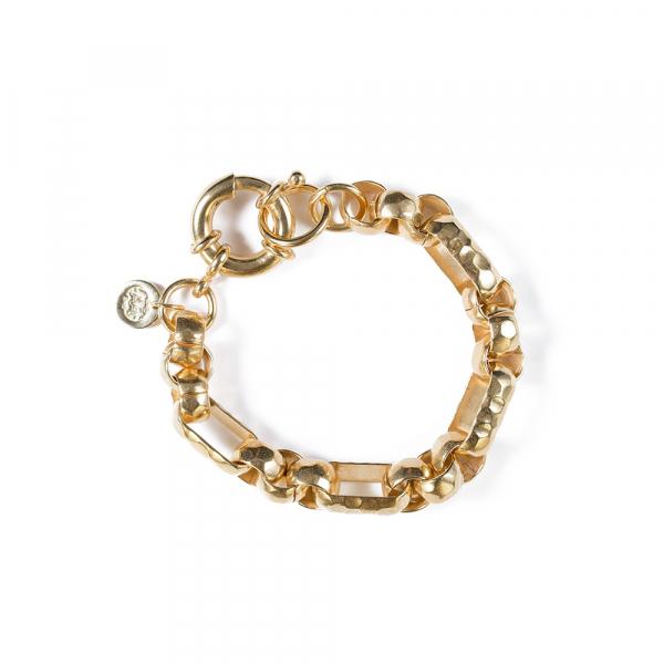 Bracelet IRMA plaqué or