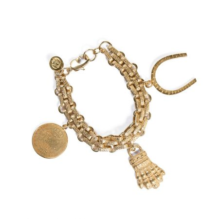Bracelet Carlos plaqué or