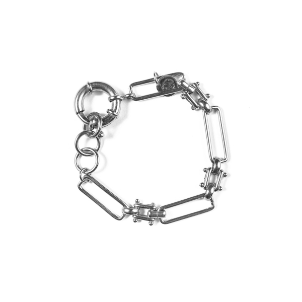 Bracelet Judith plaqué argent