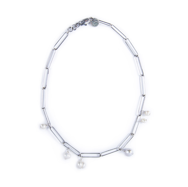 Collier Bettina plaqué argent