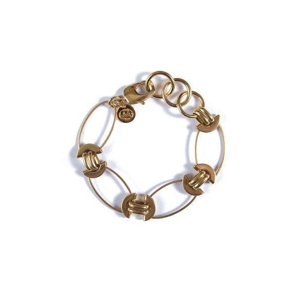 Bracelet Maurice plaqué or